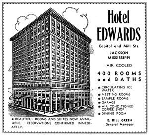 Edwards Hotel gets blues marker | The Mississippi Link