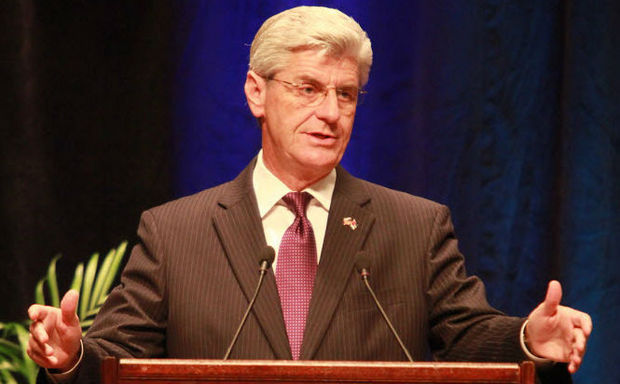 Mississippi Gov. Phil Bryant (file photo)