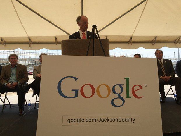 Gov. Robert Bentley announced Wednesday, June 24, 2015 that Google will be opening a $600 million data center in Stevenson, Ala. (Paul Gattis/pgattis@al.com)