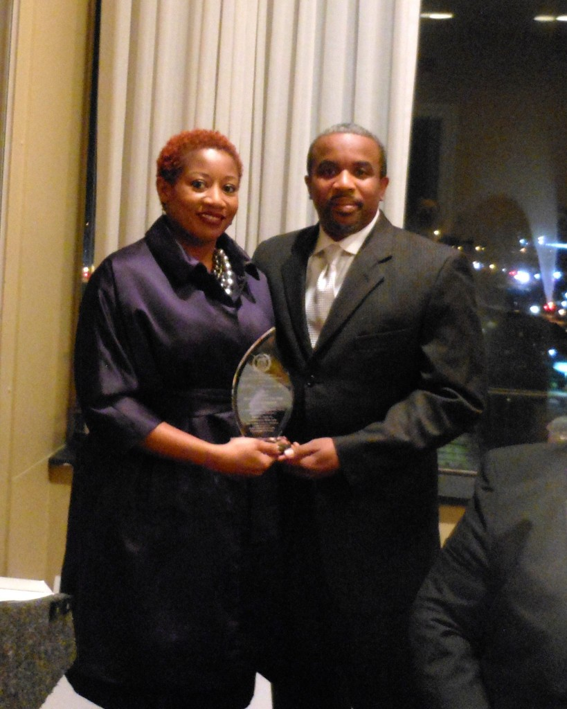 """Dr. Larry J. Nixon and wife, Demetrica """"Dee"""" Bookert-Nixon, a nurse, were lauded as Citizens of the Year at the David C. Bass Sr. Achievement Week Gala."""