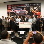 Nissan presented $250,000 to representatives and presidents from Mississippi