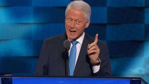 DNC 2016: Bill Clinton calls Hillary Clinton the 'best darn change-maker' he's ever met